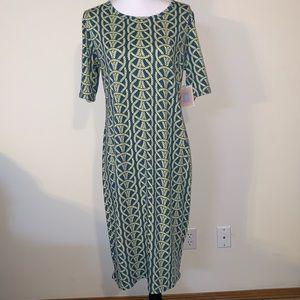 LulaRoe Julia dress size XL NWT